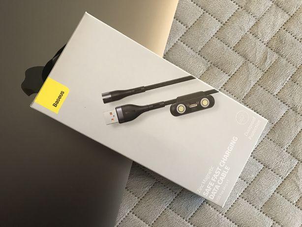 Baseus - Kabel Magnetyczny - 3 zmienne złącza USB-C/Lightning/MicroUSB