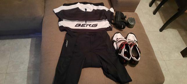 Roupa e sapatos  ciclismo