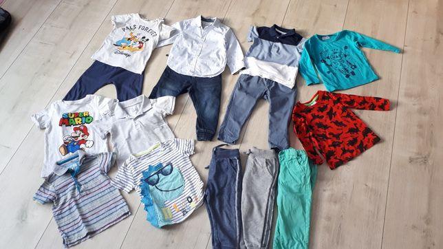 Paczka ubrań chłopiec 92 HM