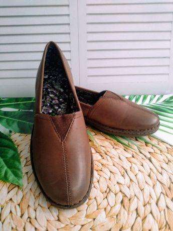 Кожаные туфли Eastland , 38 р, очень удобные, сша