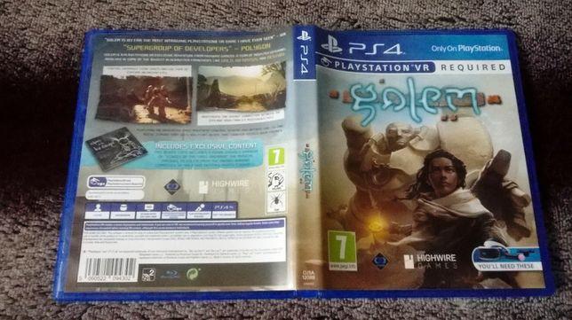 Golem PS4 VR Box pudełko płyta ver. ang. stan wzorowy! Bielsko-Biała