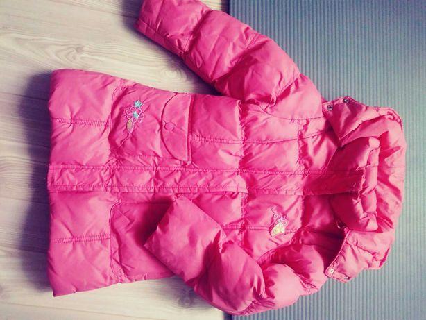 2 sztuki kurtek: zimowa 116-122 i kożuszek 4-5 lat