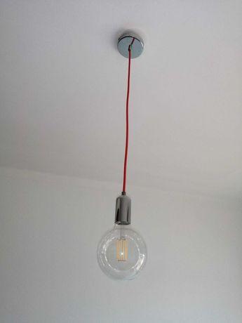 Suspensão com lâmpada led