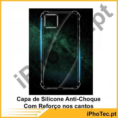 Capa Silicone Anti-Choque iPhone 11 / 11 PRO / 11 PRO MAX