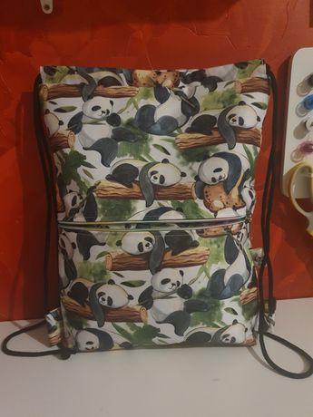 Worek /plecak dla dziewczyki 31x39 cm