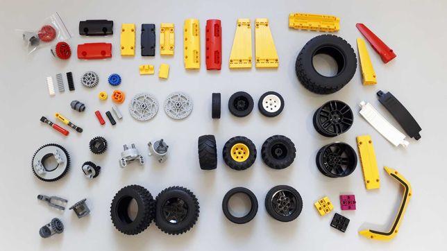 Детали Lego Technic - поштучно (оригинал лего техник)