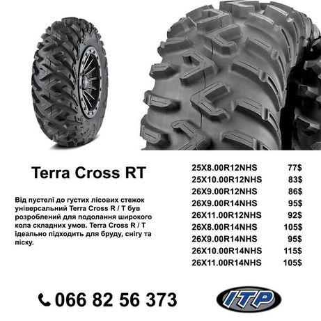 Шина Резина для квадроцикла ITP TERRA CROSS R/T 25×8-12 Brp Can am
