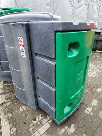 Zbiornik do paliwa z papierami dwupłaszczowy z dużąszafą 1300l