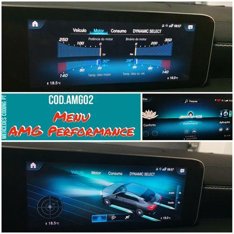 Mercedes codificação - Ativação menu AMG