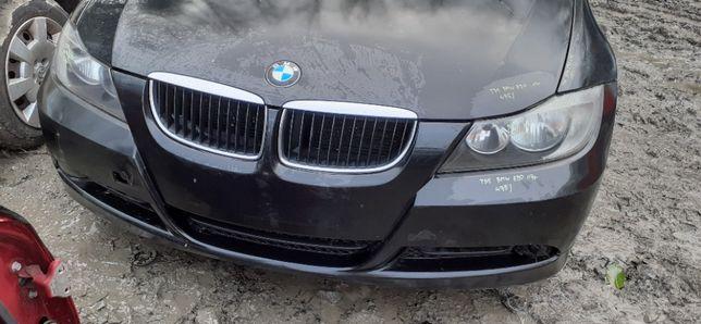 Zderzak Przedni Przód Grill BMW 3 E90 E91 05r-12r black sapphire 475/