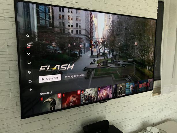 Telewizor JVC idealny Netflix 65 cali 4K