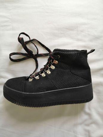 Buty damskie czarne