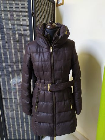 Zara kurtka zimowa puchowa