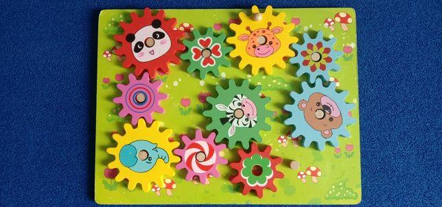 Детская деревянная головоломка