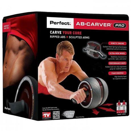 Ролик колесо тренажер для преса Perfect AB Carver Pro тренажор