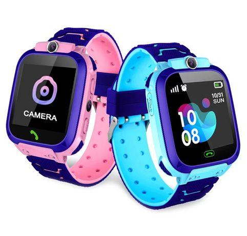 Relógio Smartwatch para crianças, com câmera, faz chamadas telefónicas