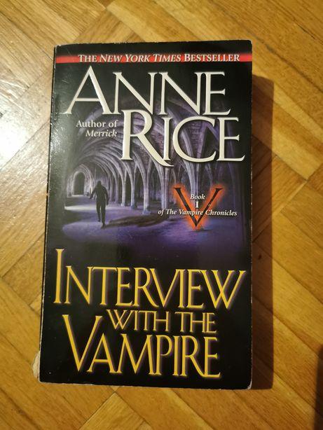 Anne Rice Interview with the Vampire Wywiad z Wampirem po angielsku