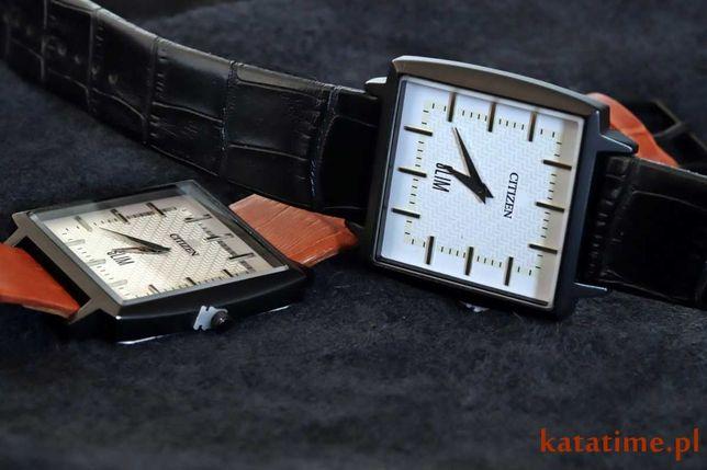 CITIZEN - fajny, cieniutki, uniwersalny zegarek - SUPER PREZENT - NOWY