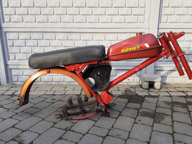 Rama Motorower Romet Ogar 205 Kompletna ładna nie jawa simson PRL Love