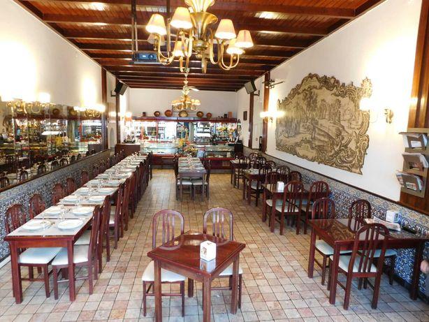 Trespasso Restaurante no centro histórico de Alcobaça