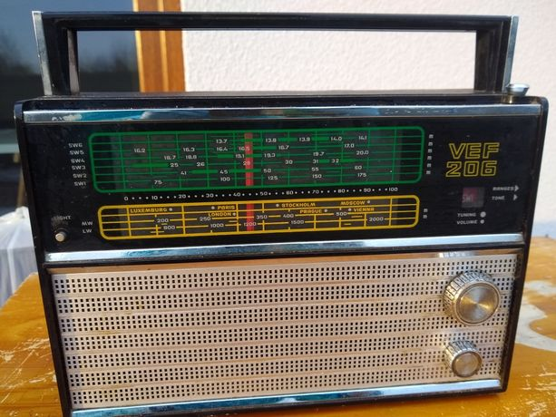 Radio zabytkowe VEF 206