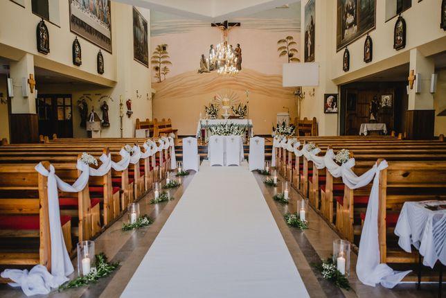 Dekoracje ślubne i weselne kwiaty na ślub wesele