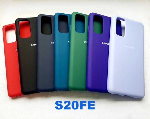 Силиконовый чехол на Samsung Galaxy S8 S9 S10e S10 S20 FE Plus Ultra