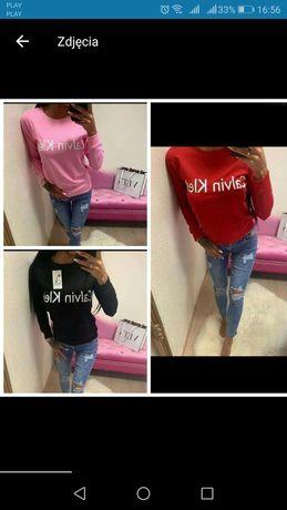 Bluzy damskie bez kaptura z logo Ck kolory S-XL!!!