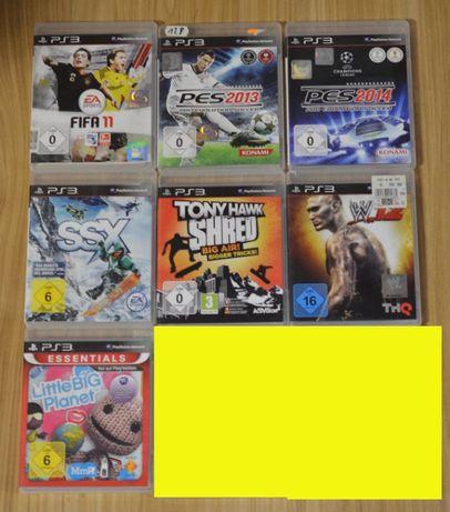 Zestaw 11 gier Gry na konsolę Sony PlayStation 3 PS3
