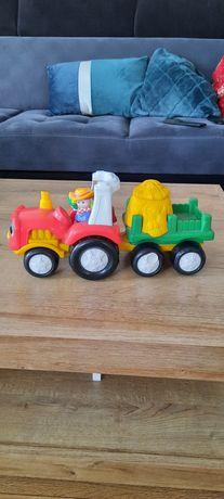 Interaktywny traktorek Fisher Price. Little People.
