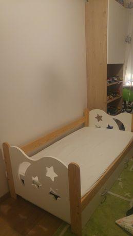 Łóżko dziecięce 80x160 z pojemnikiem