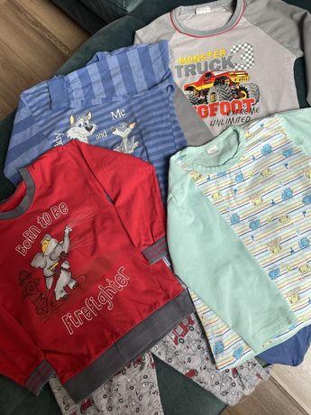 Zestaw (4) piżam dzieciecych rozmiary od 98 do 105