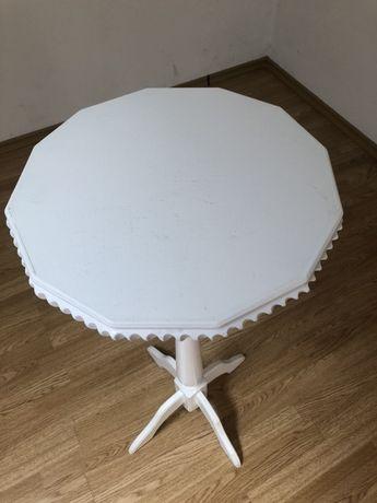 Столик белый свадебный для росписи