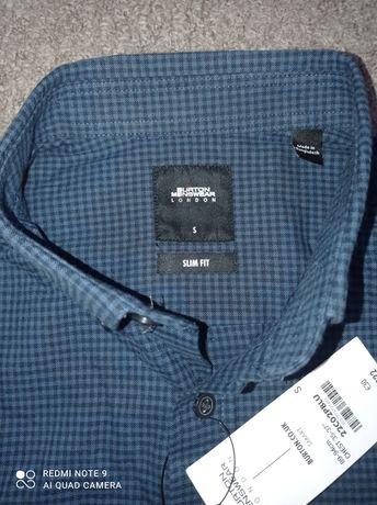 Рубашка с коротким рукавом,Burton Menswear, размер S
