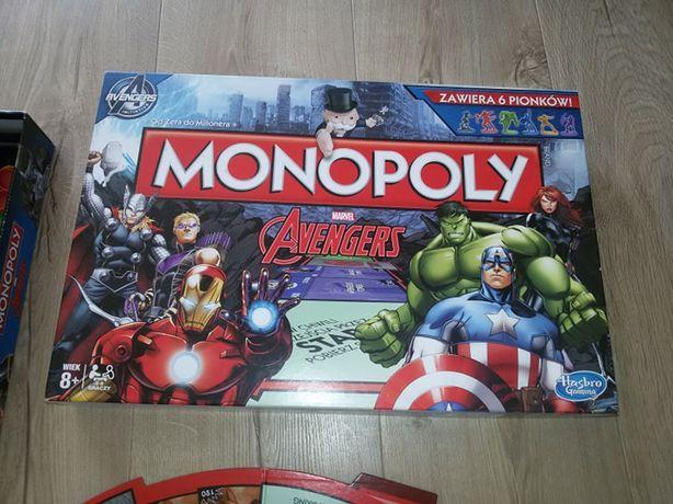 Gra Monopoly avengers wersja polska hulk iron man