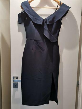 Sukienka Vissavi granatowa
