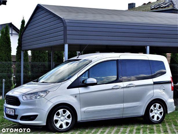 Ford Tourneo Courier 1,6'TDCi 95KM S&S FamillyCar BogWyp 1wł Garaż 5,0litr/100km BDBstan!!!
