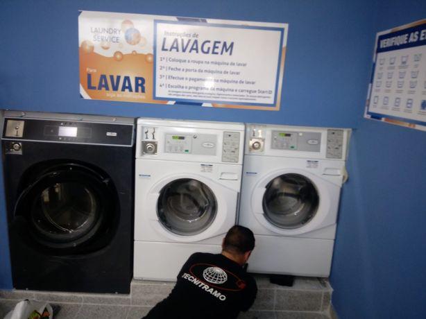 Self service Lavandaria equipamentos