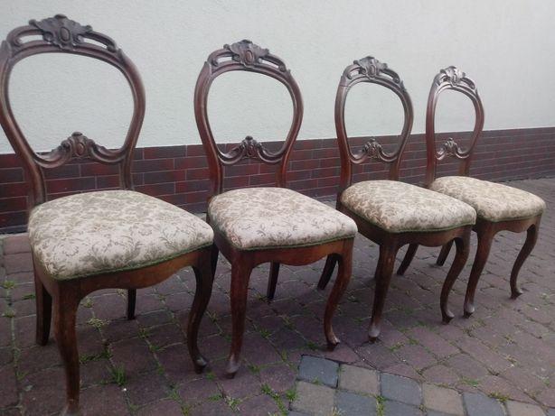 4 krzesla ludwik filip