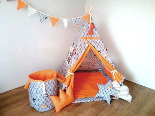 """Tipi. Namiot dla dzieci """"Wesoły Lisek"""""""