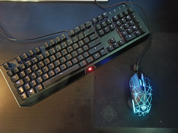 Conjunto gaming RGB