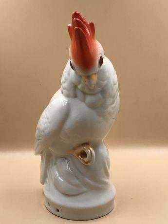 Статуэтка Светильник Фарфор «Попугай»