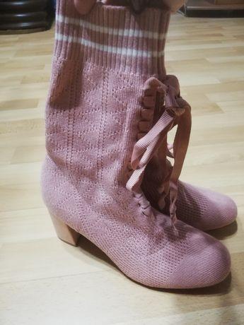Piękne skarpetkowe buty r 41