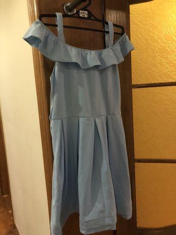 Sukienka mosquito niebieska