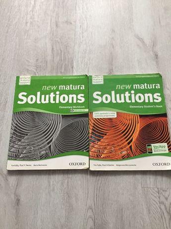 Angielski podręcznik i cwiczenia Solutions