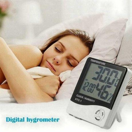 Гигрометр часы метеостанция термометр htc 1 комнатный для домаШняя