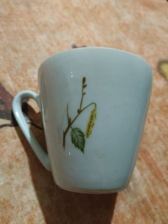 Фарфоровая чашка кахла