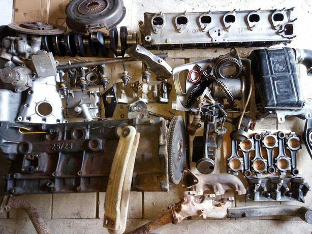 Разборка двигатель BMW e12 M30 2.8л