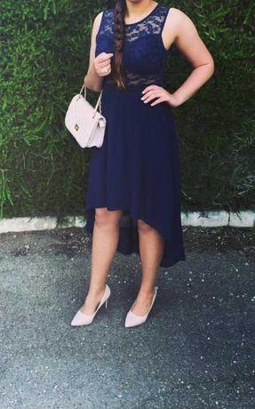Vestido azul Elegante de Gala, EXCELENTE Estado