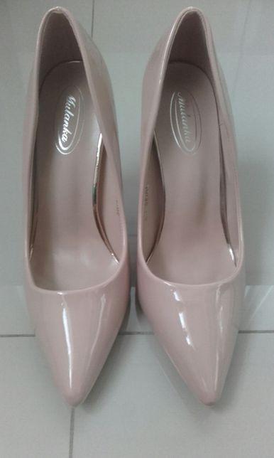 buty szpilki mulanka nowe 40